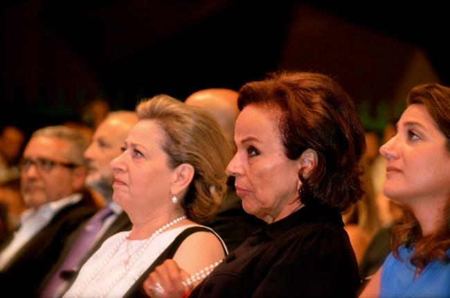 Femmes de Gemayel et Moawad