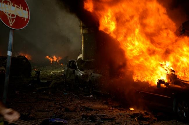 paysage de catastrophe. photo frédérichelbert;com