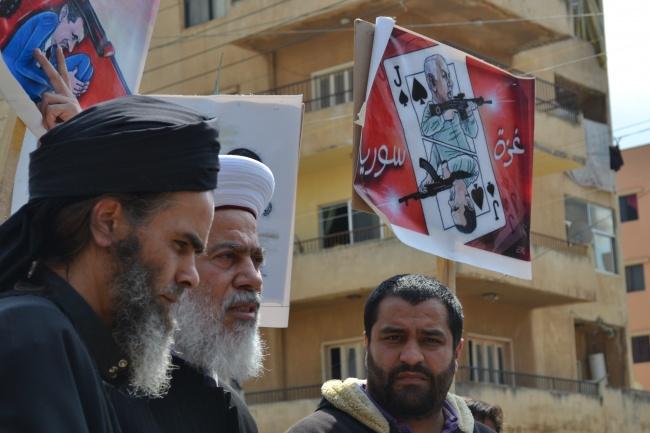 le sheikh Bilal al Nasri à Tripoli @Frédéric helbert