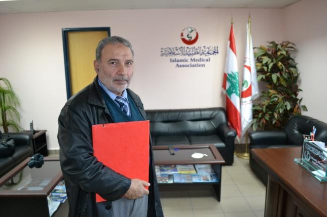 Le professeur el_Sayed, qui a tenté dès 2012 d'alerter la communauté internationale. En vain. @Frederic Helbert