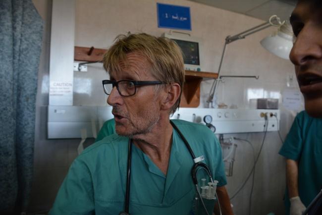 Mads Gilbert face à l'urgence absolue @Frédéric Helbert