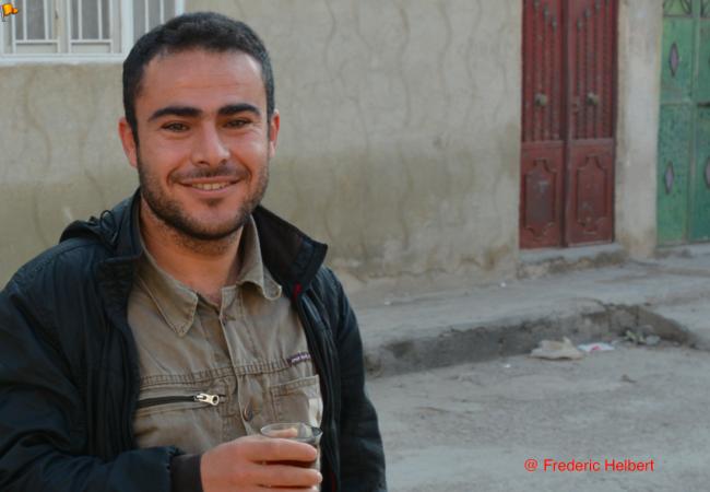 Le journaliste de Kobane sous la menace, que la France ne veut accueillir @Frederic Helbert