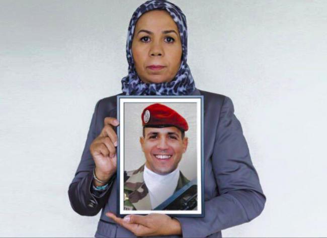 Latifa Ibn Zlaten, mère d'un  des 3 soldats français tués par Mohamed Merah
