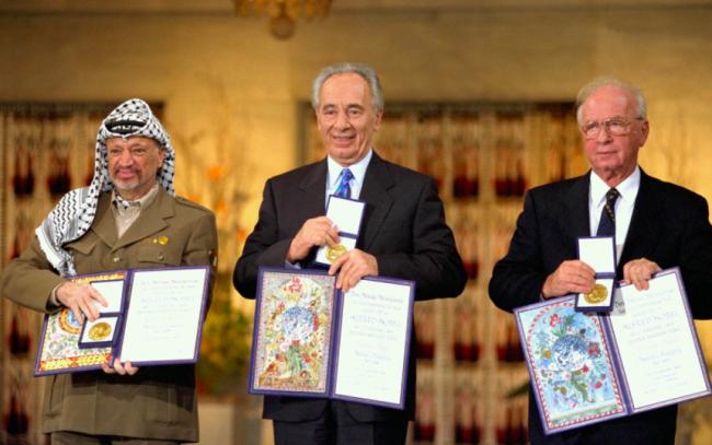 L'heure des Prix Nobel de la paix