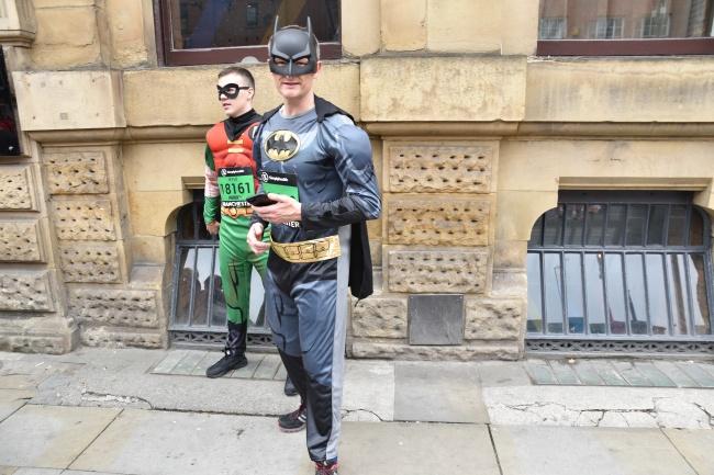 Batman et Robin... @Frederic Helbert