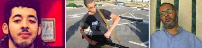 Salman Abedi. Son plus jeune frère et son père, arrêtés en Libye.