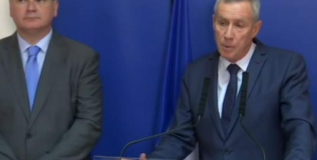 Le procureur de la République de Paris, François Molins