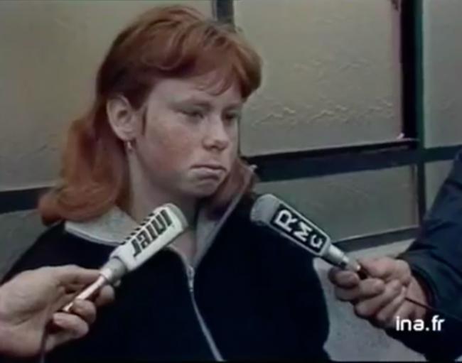 Muriel Bolle, revenant sur son témoignage accusateur devant les journalistes en 1984.