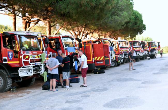 accueil pompiers